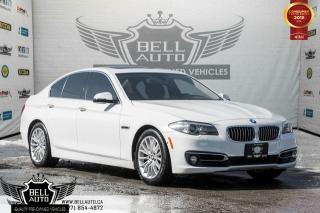 Used 2014 BMW 5 Series 528i xDrive, NAVI W/ MEMORY, BACK-UP CAM, SUNROOF, LEATHER for sale in Toronto, ON