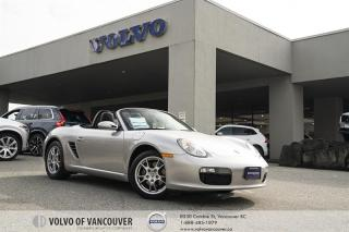 Used 2006 Porsche Boxster Roadster IMMACULATE CONDITION! | NAVIGATION | LEATHER | HEATED SEATS for sale in Vancouver, BC
