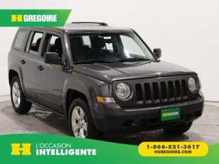 Used 2016 Jeep Patriot SPORT FWD A/C for sale in St-Léonard, QC