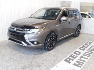 Used 2018 Mitsubishi Outlander Phev SE for sale in Red Deer, AB