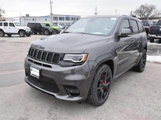 New 2019 Jeep Grand Cherokee SRT|4X4|LEATHER|NAV|SRT DRIVE PAGES|PANO SUNROOF for sale in Concord, ON
