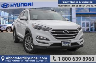 Used 2018 Hyundai Tucson SE 2.0L LOW KILOMETRES, ONE OWNER & ACCIDENT FREE for sale in Abbotsford, BC