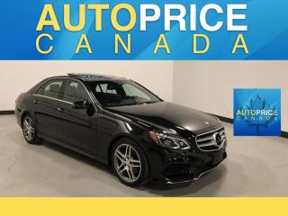 Used 2015 Mercedes-Benz E-Class NAVIGATION|PANOROOF|LEATHER for sale in Mississauga, ON
