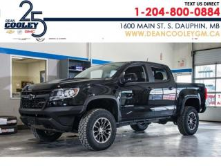 New 2019 Chevrolet Colorado 4WD ZR2 for sale in Dauphin, MB