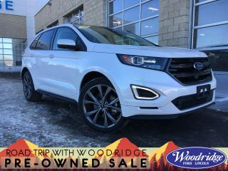 Used 2018 Ford Edge Sport ***PRICE REDUCED*** 2.7L, NAVIGATION, SUNROOF, ADAPTIVE CRUISE, LANE KEEP, NO ACCIDENTS. for sale in Calgary, AB