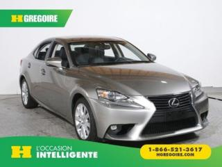 Used 2015 Lexus IS 250 AWD AC GR ELEC for sale in St-Léonard, QC
