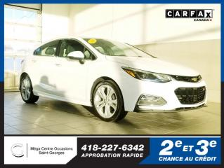 Used 2018 Chevrolet Cruze Premier / Rs / Hayon for sale in St-Georges, QC