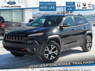 Used 2016 Jeep Cherokee Cuir Awd A/c for sale in Victoriaville, QC