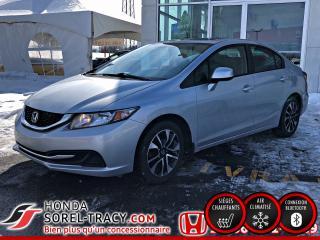 Used 2013 Honda Civic 4 portes + boîte manuelle + EX for sale in Sorel-Tracy, QC