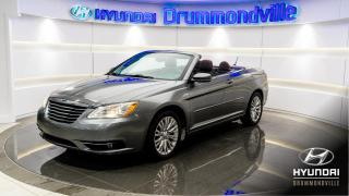 Used 2012 Chrysler 200 CONVERTIBLE + GARANTIE + V6 + BLUETOOTH for sale in Drummondville, QC