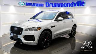 Used 2017 Jaguar F-PACE S + AWD + GARANTIE + NAVI + TOIT PANO + for sale in Drummondville, QC