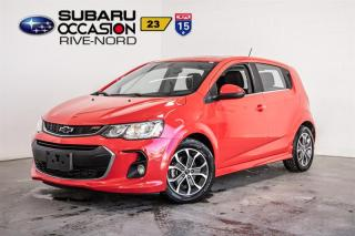 Used 2018 Chevrolet Sonic LT RS HB for sale in Boisbriand, QC