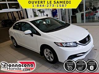Used 2014 Honda Civic LX GARANTIE PROLONGÉE******PNEUS HIVER** for sale in Donnacona, QC