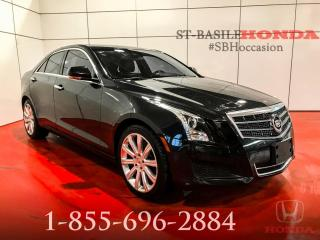 Used 2013 Cadillac ATS LUXURY + AWD + BOSE + BAS MILLAGE !!! for sale in St-Basile-le-Grand, QC