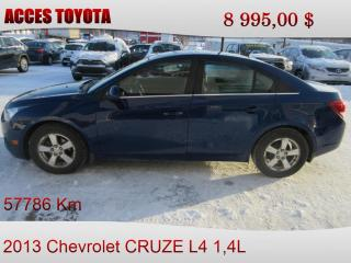 Used 2013 Chevrolet Cruze for sale in Rouyn-Noranda, QC