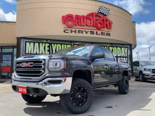 Used 2016 GMC Sierra 1500 SLE/REAR CAM/ H-TED SEATS/LIFTKIT/ B-TOOTH/ for sale in Toronto, ON