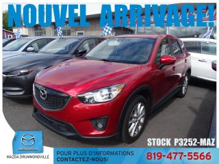 Used 2015 Mazda CX-5 |GT|AWD|2.5L|CUIR|GPS| + WOW !! for sale in Drummondville, QC