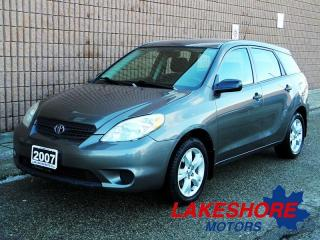Used 2007 Toyota Matrix || CERTIFIED || MANUAL | for sale in Waterloo, ON
