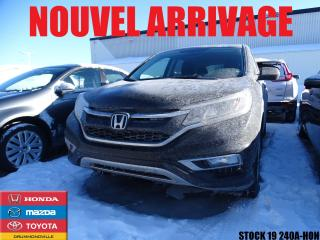 Used 2016 Honda CR-V Se+awd+mags+fog for sale in Drummondville, QC