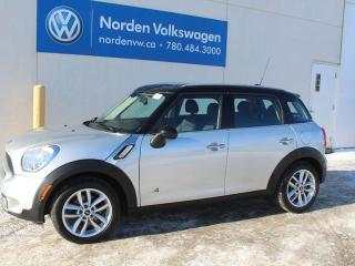 Used 2013 MINI Cooper Countryman S ALL4 AWD for sale in Edmonton, AB