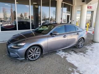 Used 2016 Lexus IS 350 F-SPORT! AWD - NAVI - FULL LOAD - 2 SETS OF RIMMS AND TIRES for sale in Edmonton, AB