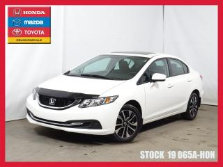 Used 2015 Honda Civic Ex+t.ouvrant+mags+a for sale in Drummondville, QC