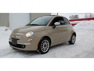 Used 2012 Fiat 500 C Lounge for sale in St-Jérôme, QC