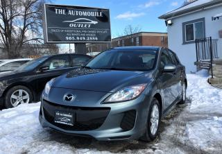Used 2012 Mazda MAZDA3 GS-SKY No accident for sale in Mississauga, ON