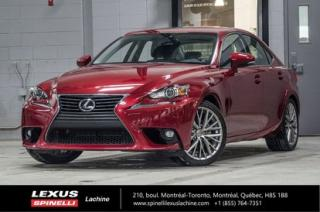 Used 2015 Lexus IS 250 Luxe Awd; Cuir Toit for sale in Lachine, QC