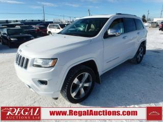 Used 2015 Jeep Grand Cherokee Overland 4D Utility 4WD for sale in Calgary, AB