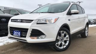 Used 2016 Ford Escape TITANIUM 2.0L HEATED SEATS LEATHER for sale in Midland, ON