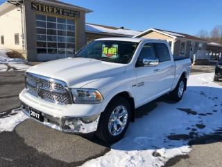 Used 2017 RAM 1500 LARAMIE CREW CAB 4X4 NAV ROOF LEATHER for sale in Smiths Falls, ON