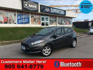 Used 2015 Ford Fiesta SE  1-OWNER AUTO BT PWR-GRP ALLOYS for sale in St. Catharines, ON