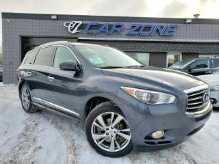 Used 2013 Infiniti JX35 FULLY LOADED TECHNOLOGY DVDS for sale in Calgary, AB