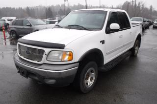 Used 2003 Ford F-150 XLT SuperCrew Short Box 4WD for sale in Burnaby, BC