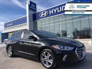 Used 2017 Hyundai Elantra 1-OWNER | GLS | SUNROOF | ALLOYS |   - $100.98 B/W for sale in Brantford, ON