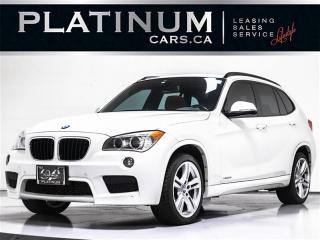 Used 2015 BMW X1 xDrive28i M-SPORT,  NAVI, PANO, CAM, RED LEATHER for sale in Toronto, ON