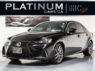 Used 2017 Lexus IS 300 AWD F-SPORT 2, NAVI, BLINDSPOT, VENTED SEATS for sale in Toronto, ON