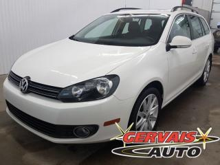 Used 2014 Volkswagen Golf Wagon Tdi Highline Gps for sale in Shawinigan, QC