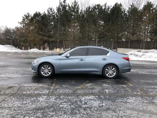 Used 2014 Infiniti Q50 AWD for sale in Cayuga, ON
