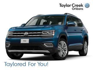 New 2019 Volkswagen Atlas Comfortline 3.6L 8sp at w/Tip 4MOTION for sale in Orleans, ON