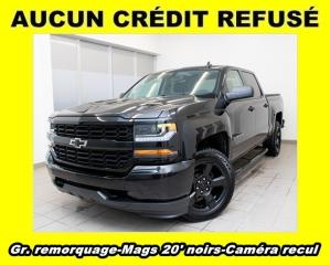 Used 2018 Chevrolet Silverado 1500 Custom 4x4 V8 Mags for sale in St-Jérôme, QC
