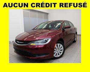 Used 2016 Chrysler 200 Lx A/c for sale in St-Jérôme, QC