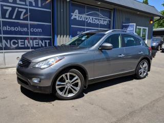 Used 2013 Infiniti EX37 Ex37 + toit + caméra 360 for sale in Boisbriand, QC