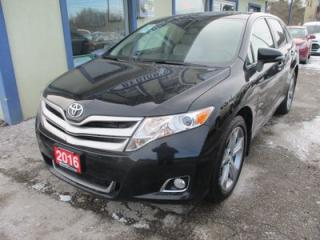 Used 2016 Toyota Venza LOADED XLE EDITION 5 PASSENGER 3.5L - V6.. AWD.. LEATHER.. HEATED SEATS.. NAVIGATION.. DUAL SUNROOF.. BACK-UP CAMERA.. for sale in Bradford, ON