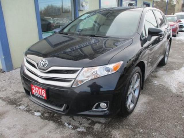 2016 Toyota Venza LOADED XLE EDITION 5 PASSENGER 3.5L - V6.. AWD.. LEATHER.. HEATED SEATS.. NAVIGATION.. DUAL SUNROOF.. BACK-UP CAMERA..