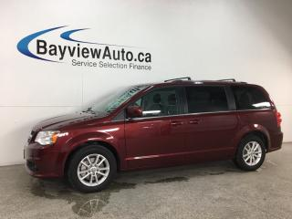 Used 2018 Dodge Grand Caravan CVP/SXT - DVD! NAV! REV CAM! 3 ZONE CLIMATE! + MORE! for sale in Belleville, ON