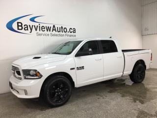 Used 2018 RAM 1500 Sport - 4X4! 8SPD AUTO! SUNROOF! HTD/COOLED LTHR! RAM BOX! ALPINE SOUND! for sale in Belleville, ON