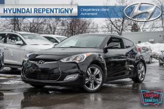Used 2016 Hyundai Veloster Tech Navigation, Toi for sale in Repentigny, QC