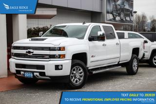 New 2019 Chevrolet Silverado 3500HD LTZ Navigation, Leather, Sunroof for sale in Coquitlam, BC